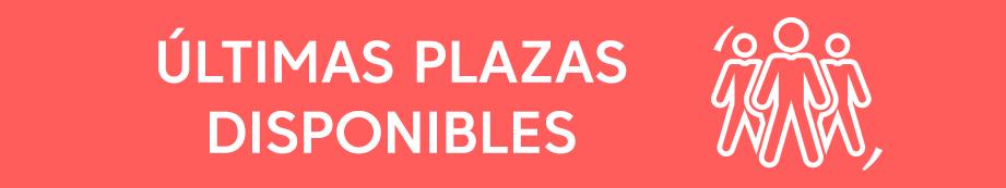 Últimas Plazas Master